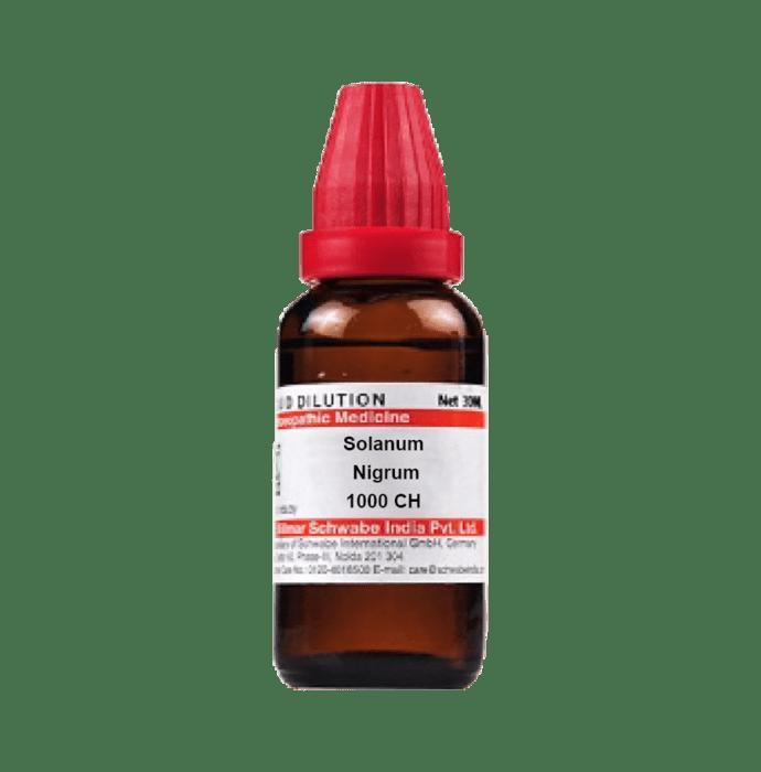 Dr Willmar Schwabe India Solanum Nigrum Dilution 1000 CH