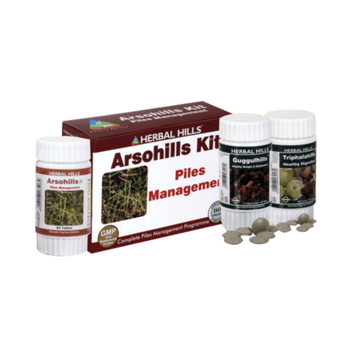 Herbal Hills Arsohills Kit