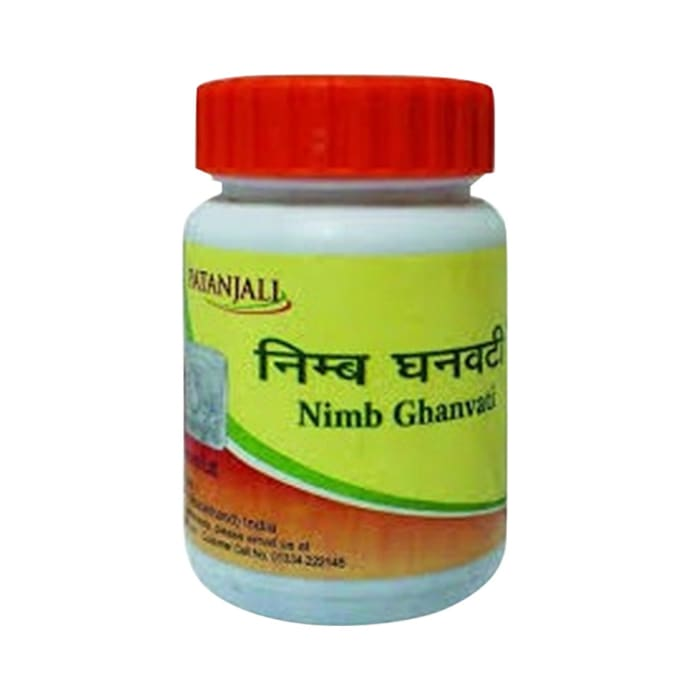 Patanjali Ayurveda Neem Ghanvati Pack of 4