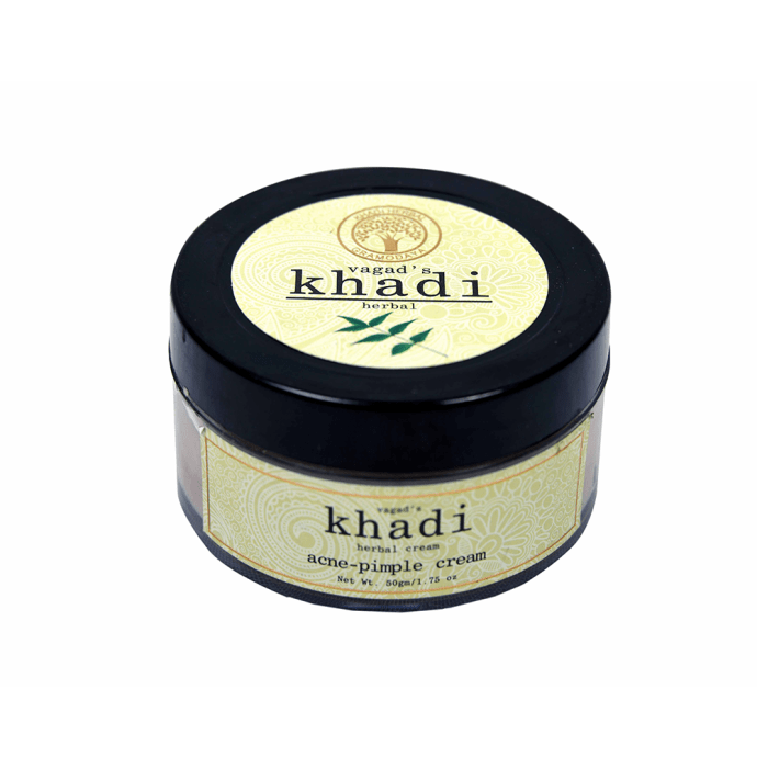 Vagad's Khadi Ayurvedic Herbal Acne-Pimple Cream