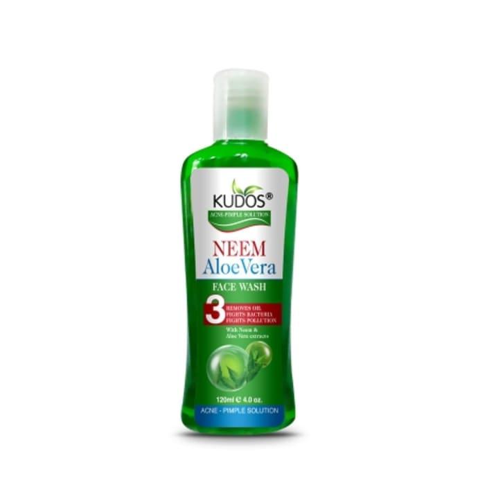 Kudos Neem Aloevera Face Wash Pack of 2
