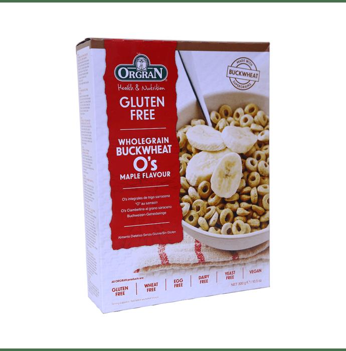 Orgran Whole Grain Buckwheat O's Maple Flavor