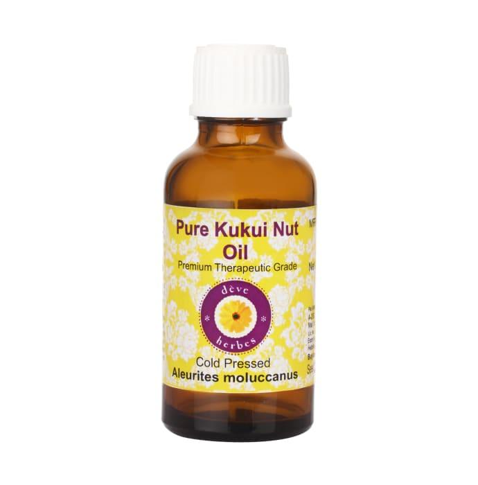 Deve Herbes Pure Kukui Nut Oil