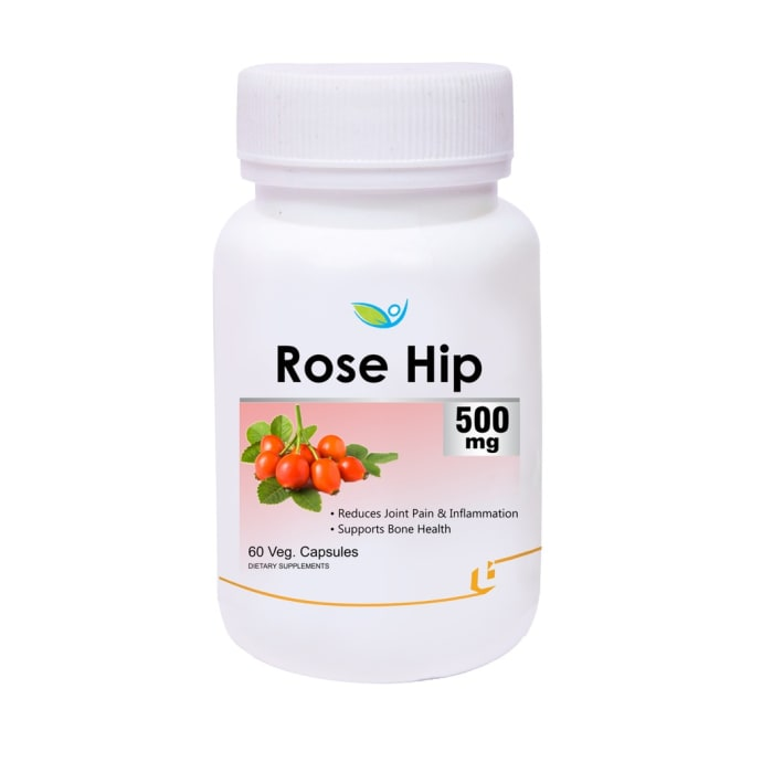 Biotrex Rose Hip Extract 500mg Veg Capsule