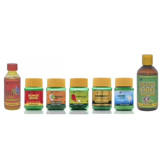Dr. Vaidya's Ayurvedic Health Home Combo Pack