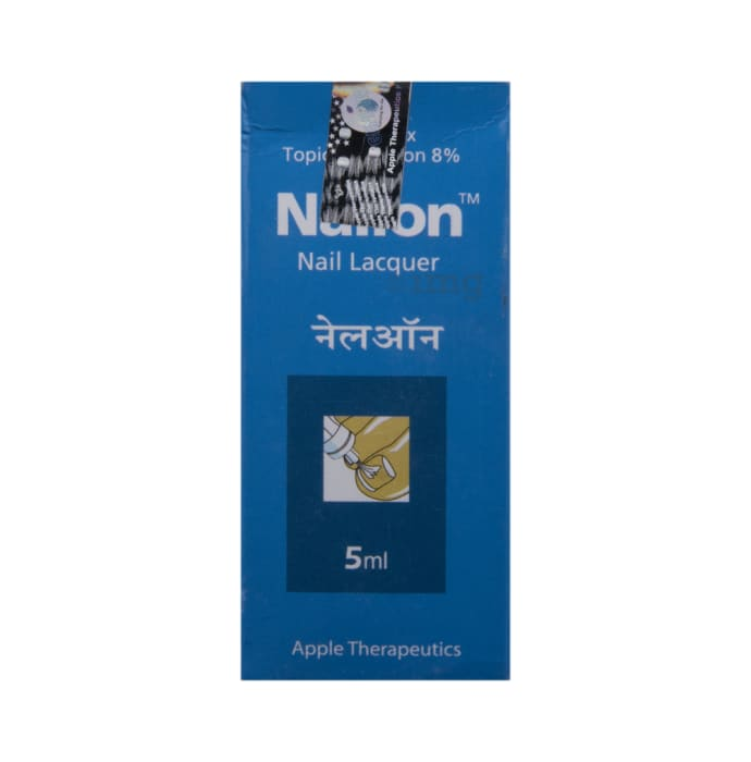 Nailon 8% Nail Lacquer : Uses, Price, Side Effects, Composition ...
