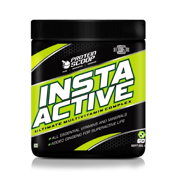 Protein Scoop Insta Active Soft Gel Capsule