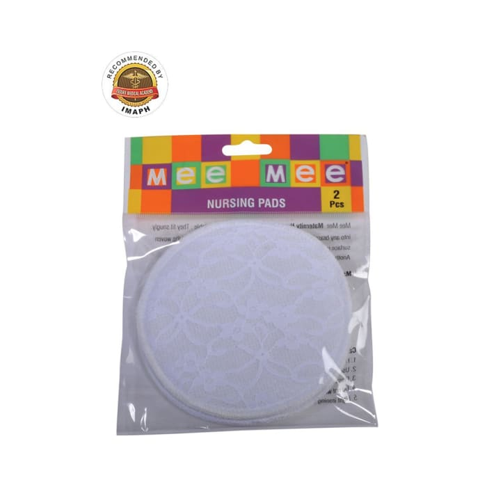 Mee Mee Washable Cotton Maternity Nursing Breast Pads White