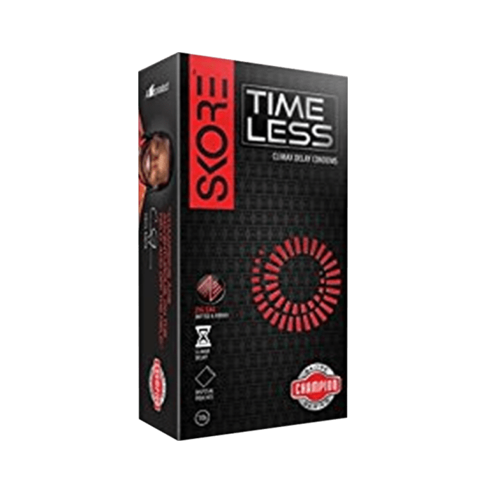 Skore Timeless Climax Delay Condom Pack of 3