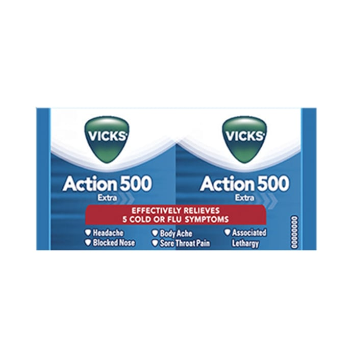 Vicks Action 500 Extra Tablet