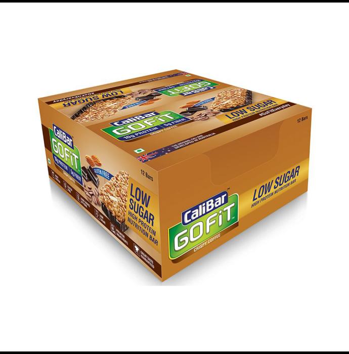 Calibar Gofit Protein Bar Crispy Coffee