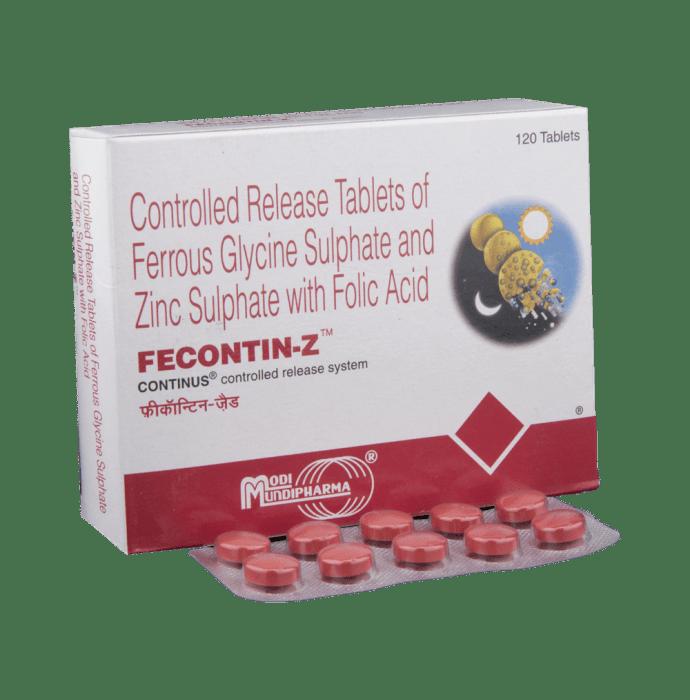 Fecontin -Z Tablet CR