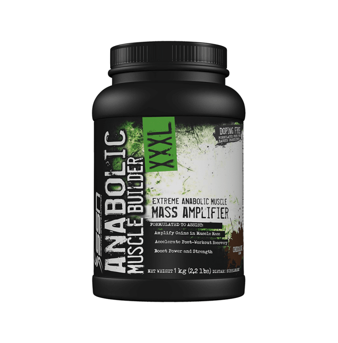 SSN Anabolic Muscle Builder XXXL Chocolate