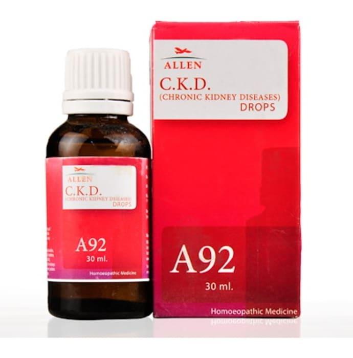 Allen A92 C.K.D.(Chronic Kidney Diseases) Drop