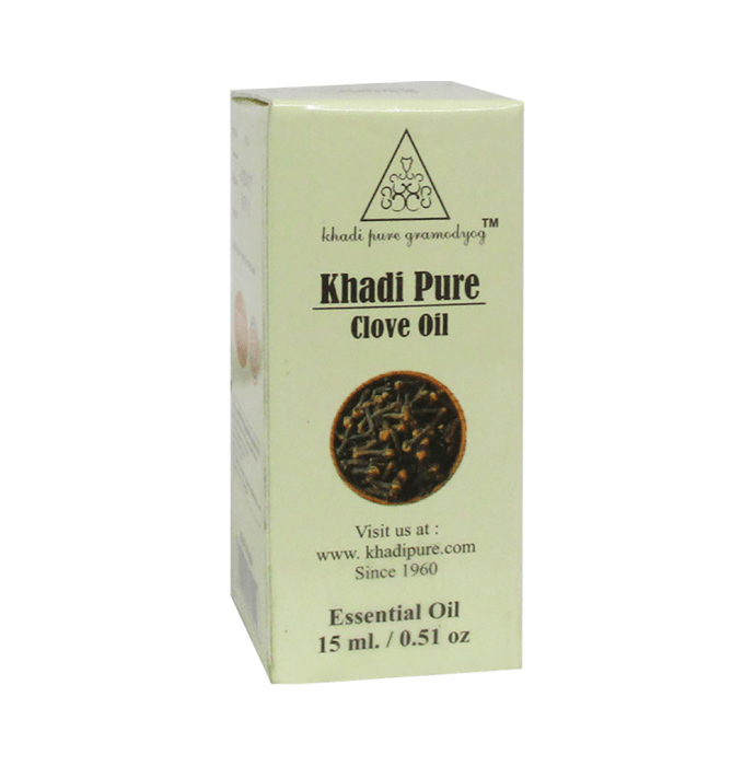Khadi Pure Herbal Clove Essential Oil