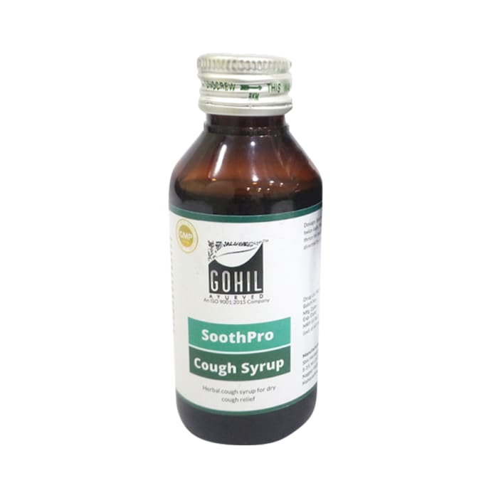 Gohil Ayurved Soothpro Cough Syrup Pack of 2
