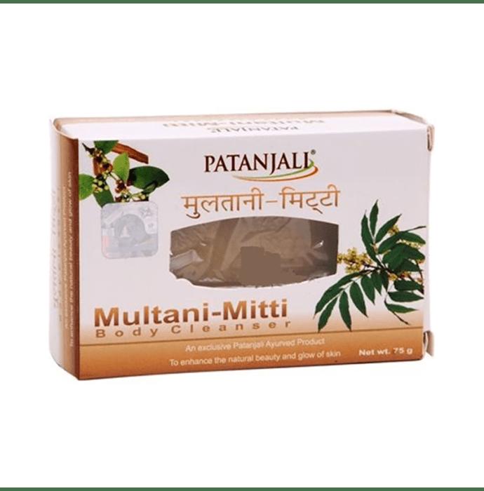 Patanjali Ayurveda Multani Mitti Body Cleanser Pack of 4