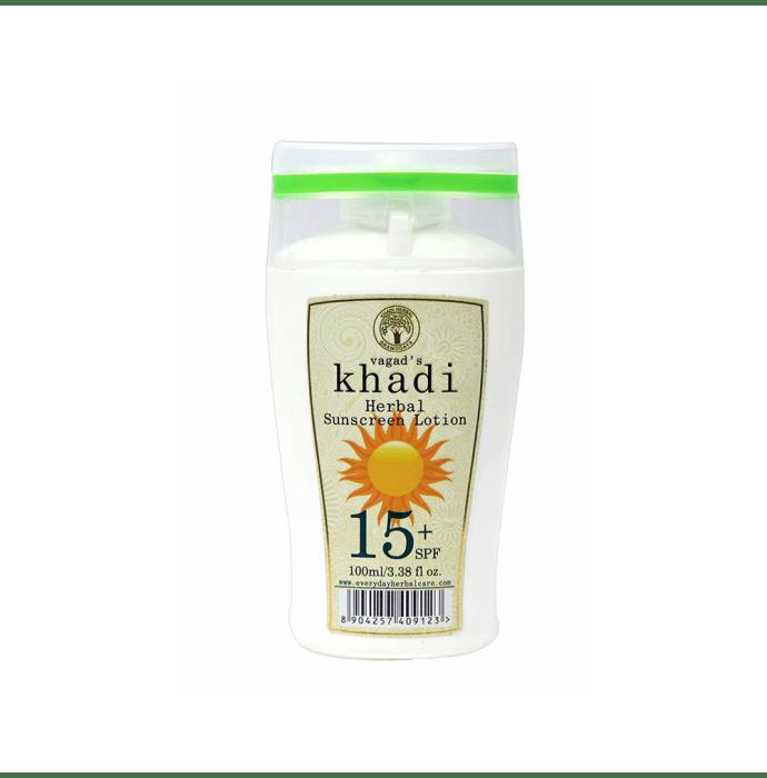 Vagad's Khadi Ayurvedic Herbal Sunscreen Lotion SPF 15