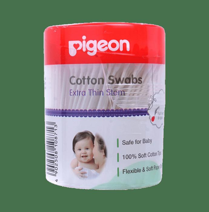 Pigeon Cotton Swabs Thin Stem