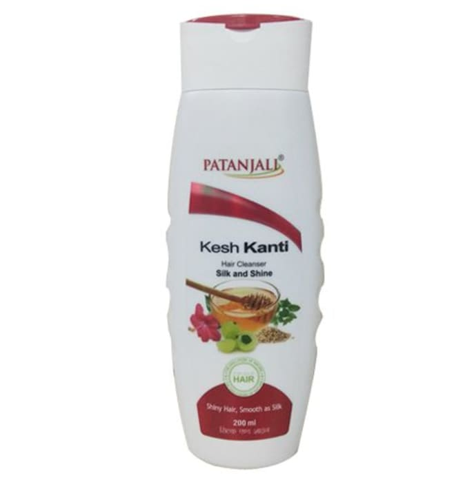 Patanjali Ayurveda Kesh Kanti Silk and Shine Hair Cleanser Pack of 2