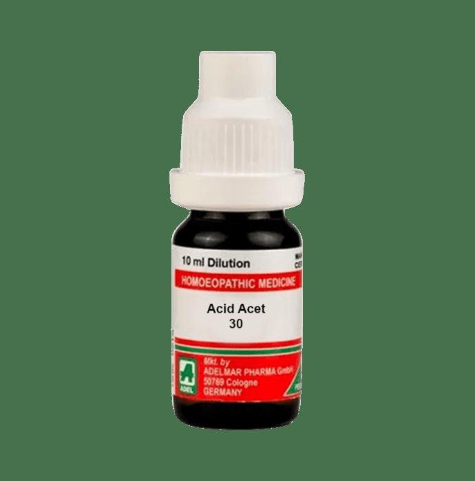 ADEL Acid Acet Dilution 30 CH