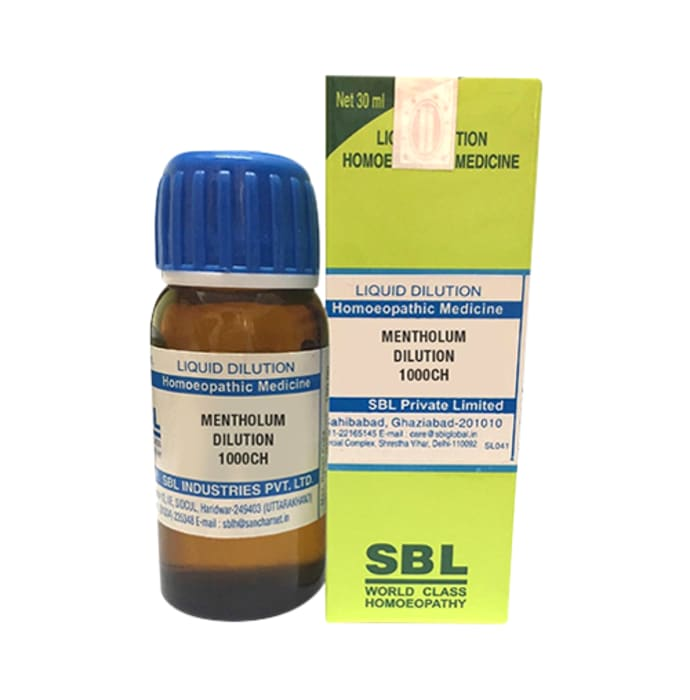 SBL Mentholum Dilution 1000 CH