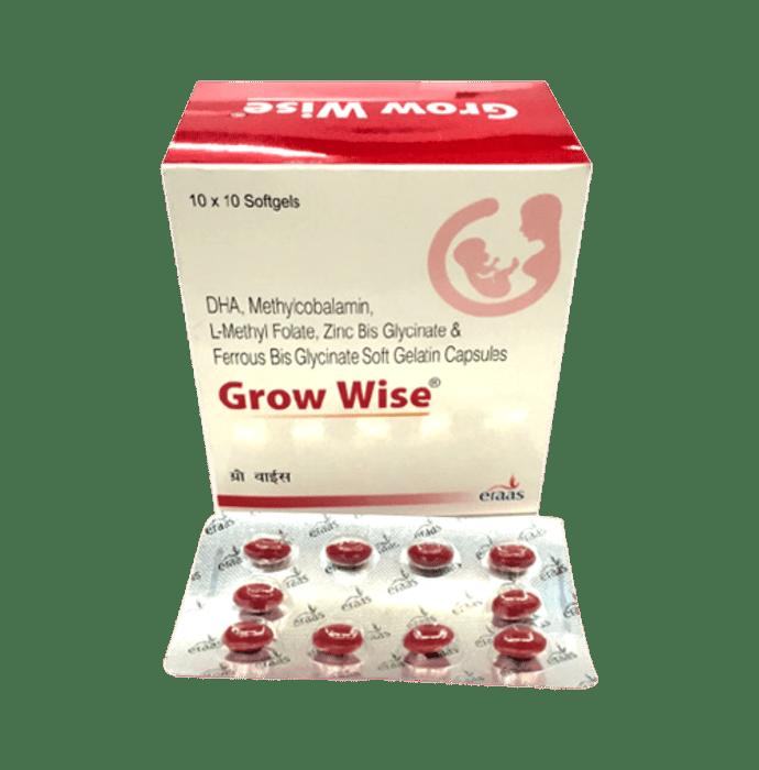 Grow Wise Soft Gelatin Capsule