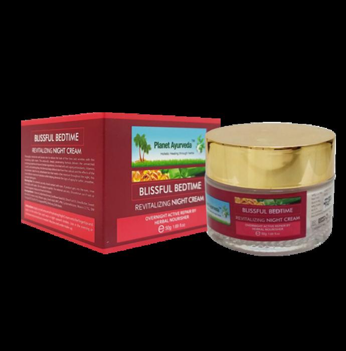 Planet Ayurveda Blissful Bedtime Revitalizing Night Cream