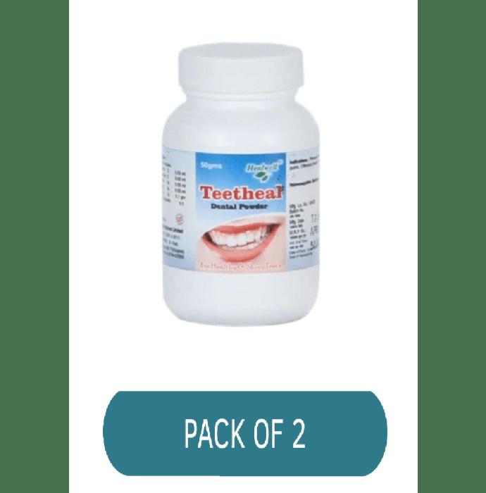 Healwell Teetheal Dental Powder Pack of 2