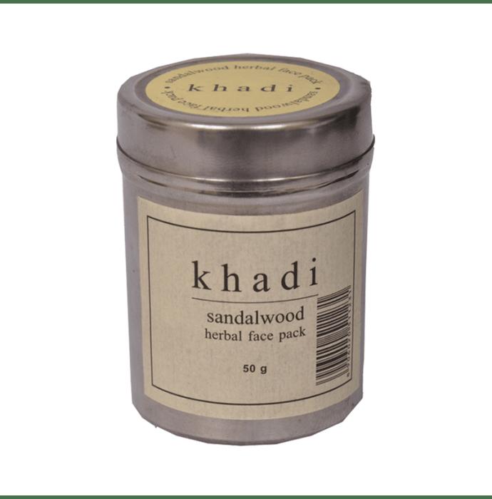 Khadi Naturals Ayurvedic Sandalwood Face Pack Pack of 2