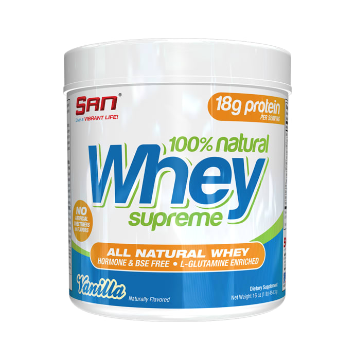 SAN 100% Natural Whey Supreme Vanilla