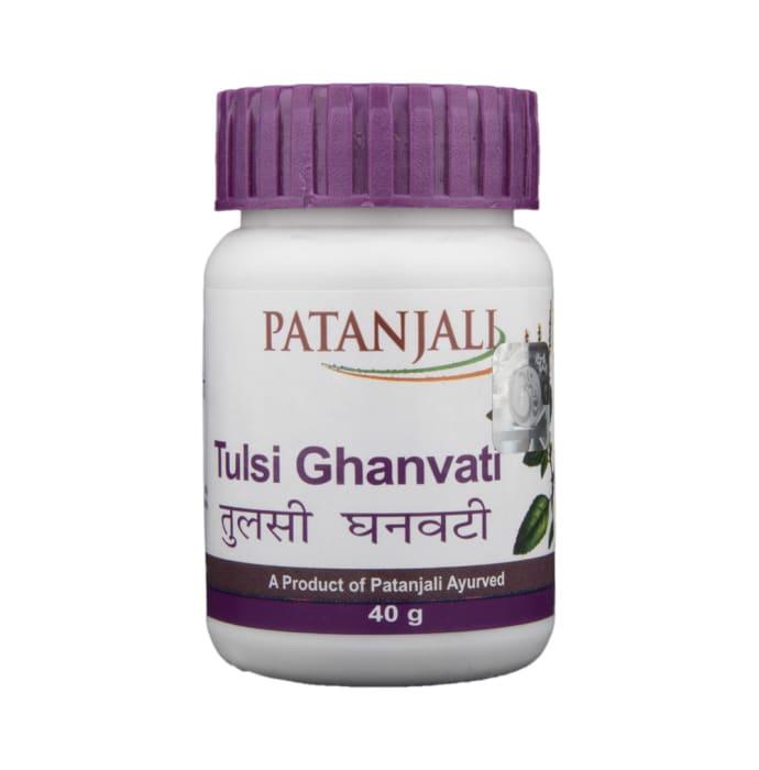 Patanjali Ayurveda Tulsi Ghanvati Pack of 4