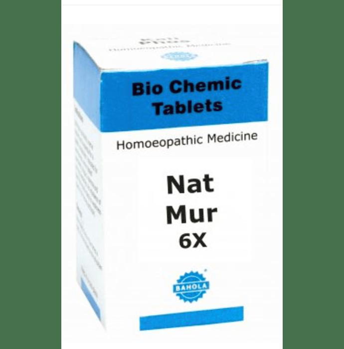 Bahola Natrum Muriaticum Biochemic Tablet 6X