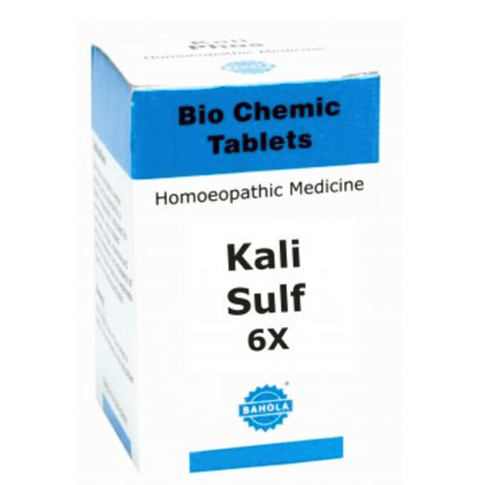 Bahola Kali Sulfuricum Biochemic Tablet 6X