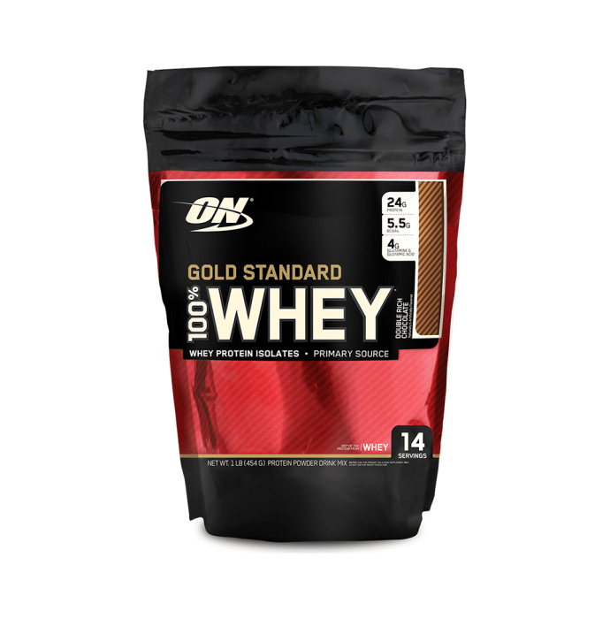 Optimum Nutrition (ON) Gold Standard 100% Whey Double Rich Chocolate