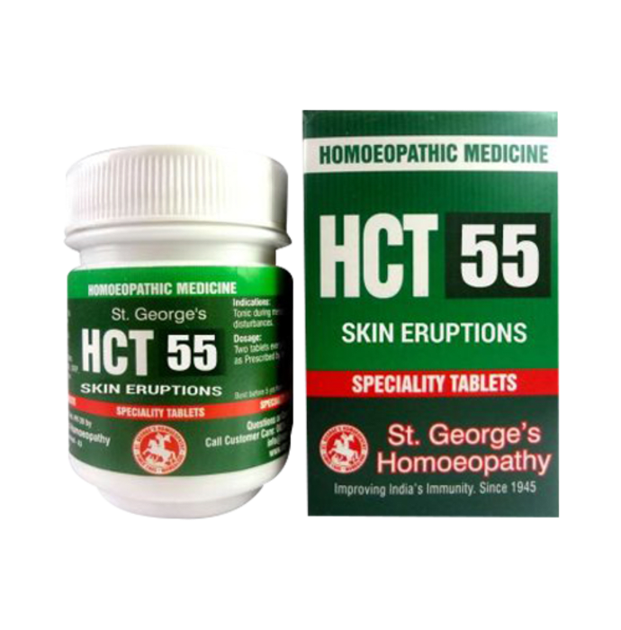 St. George's HCT 55 Skin Eruptions Tablet