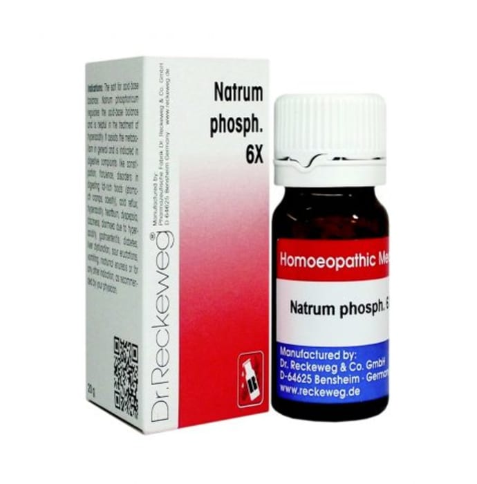 Dr. Reckeweg Natrium Phosph Biochemic Tablet 6X