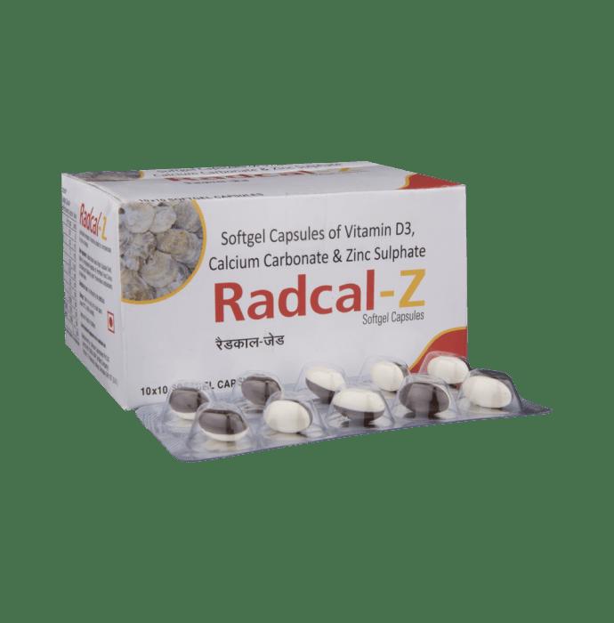 Radcal-Z Soft Gelatin Capsule