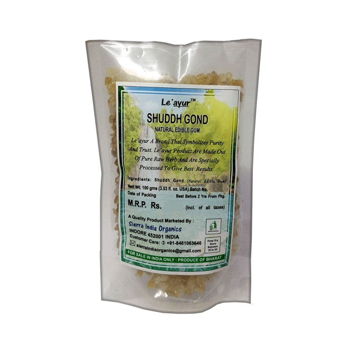 Le' ayur Shuddh Gond Natural Edible Gum Pack of 2