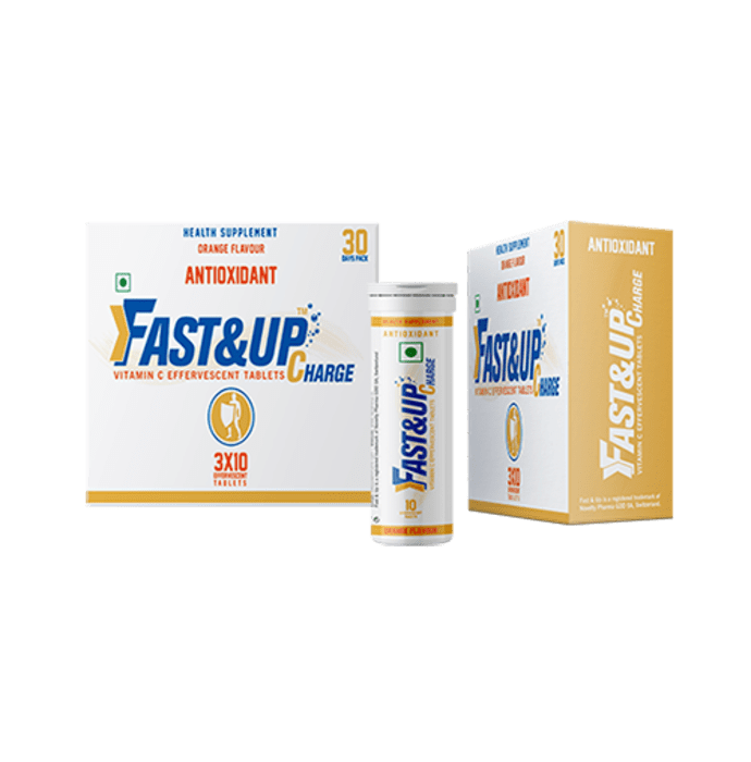 Fast&Up Charge Vitamin C Effervescent tablet Orange