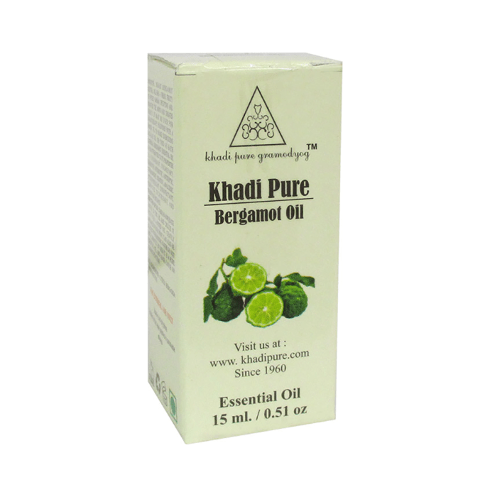 Khadi Pure Herbal Bergamot Essential Oil