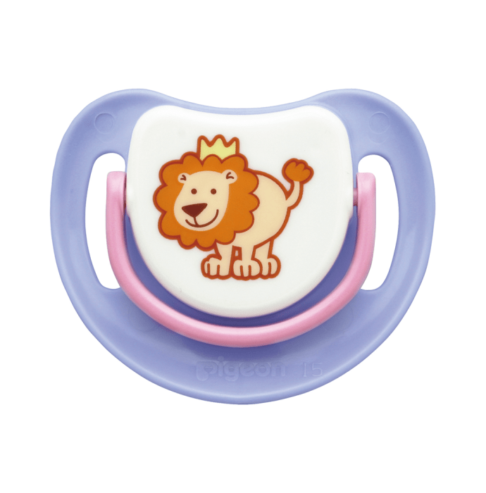 Pigeon Silicone Pacifier Step 1, Lion