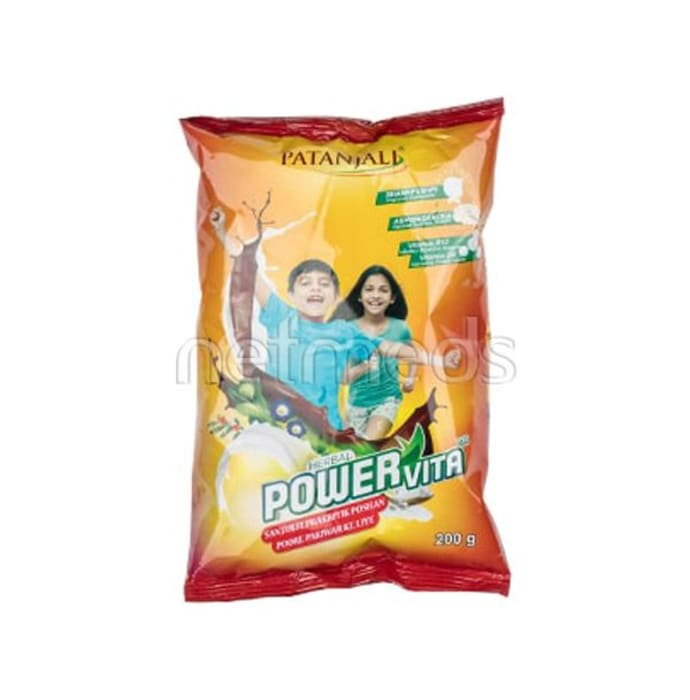 Patanjali Ayurveda Herbal Powervita Powder Refill pack Pack of 5