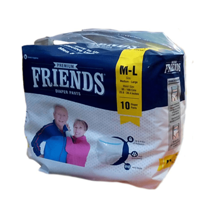 Friends Premium Pants Diaper M-L