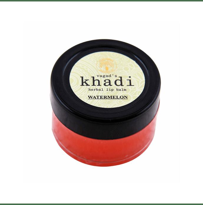 Vagad's Khadi Ayurvedic Herbal Watermelon Lip Balm Pack of 2