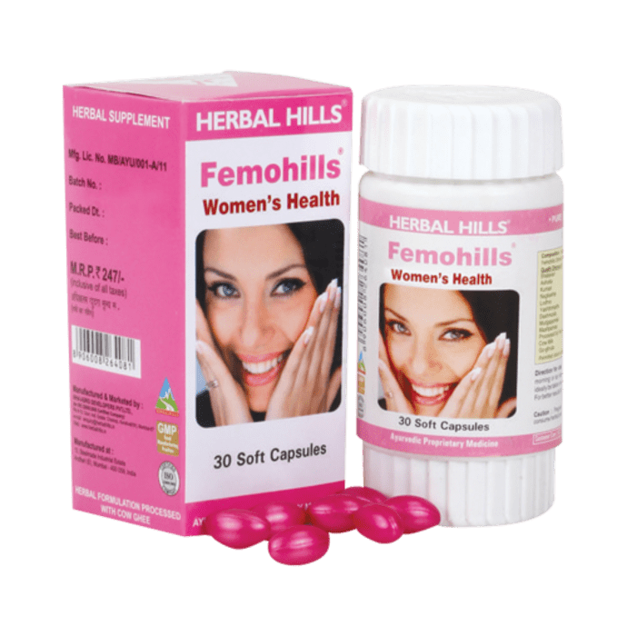 Herbal Hills Femohills Capsule