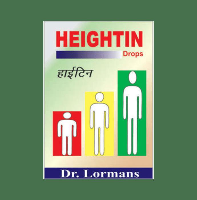 Dr. Lormans Heightin Drop