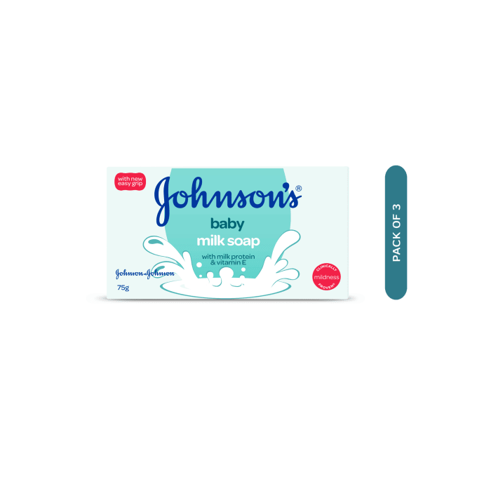 Johnsons Baby Milk Soap Pack of 3
