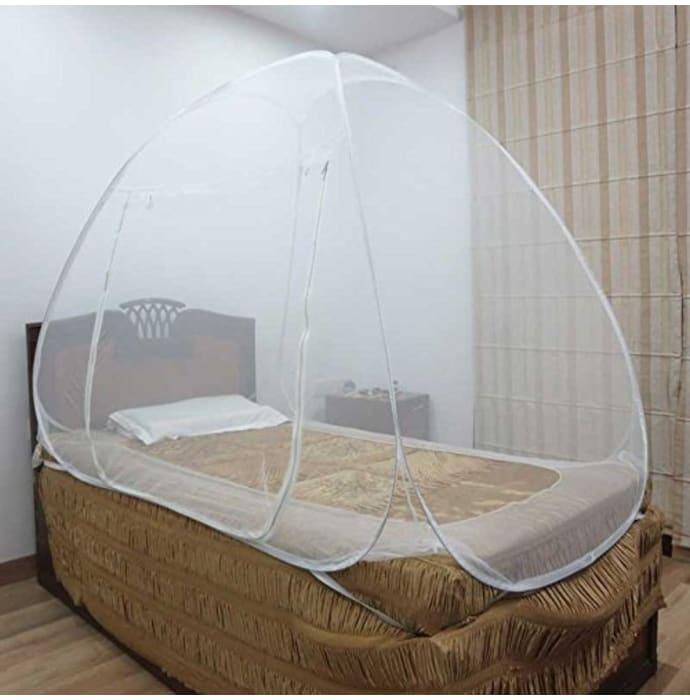Healthgenie Single Bed Mosquito Net White