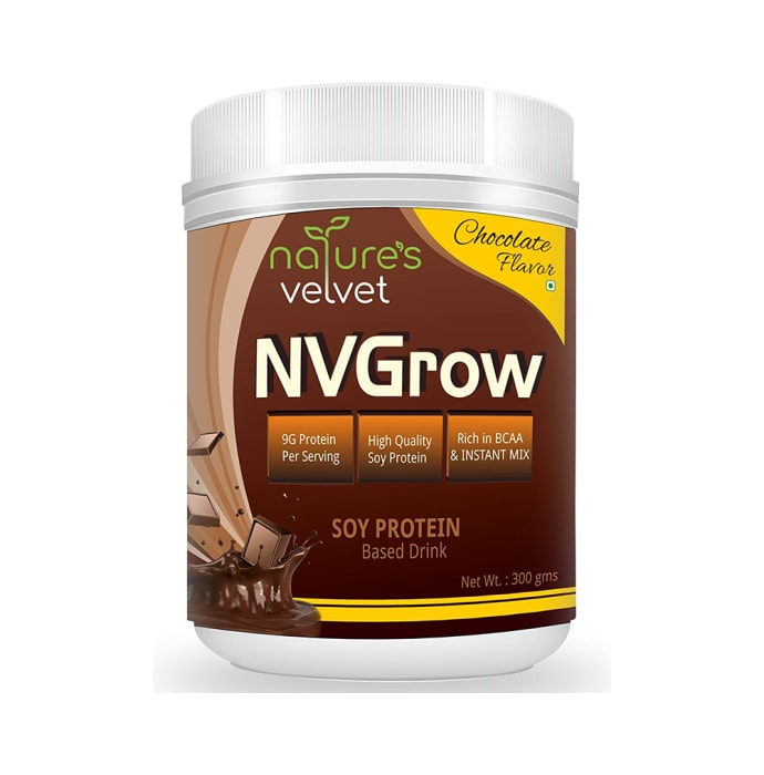 Natures Velvet Lifecare Lifecare NVGrow Soy Based Protein Drink Chocolate